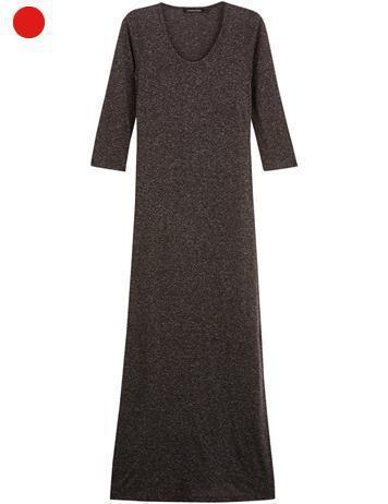 robe longue chinée