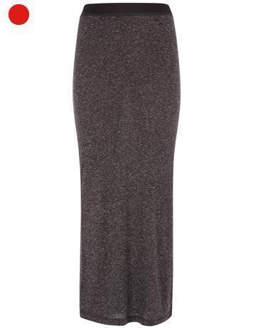 jupe longue chnée