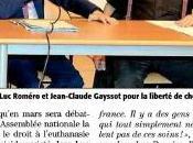 réunion Beziers avec J.C. Gayssot dans Midi Libre