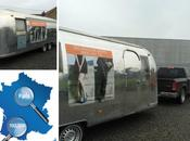 Airstream route pour Paris Toulouse