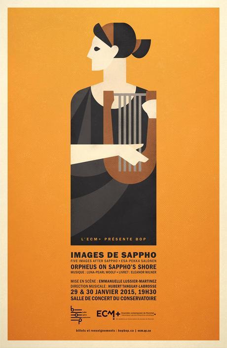 La première de Samson et Dalila à l'Opéra de Montréal, Images de Sappho par Ballet Opera, Pantomime (BOP) et Le Nozze di Figaro par Opera McGill
