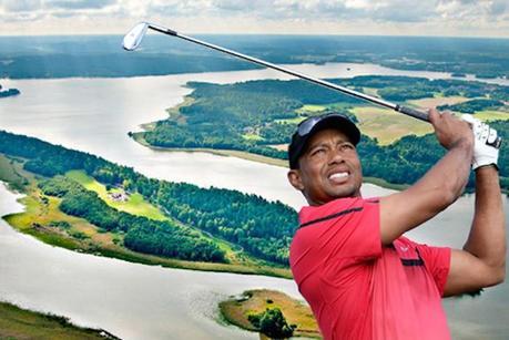 Tiger Woods met en vente son île privée suédoise