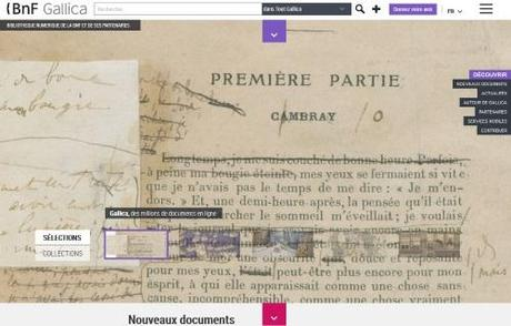 Sur Gallica Labs, un nouveau visualiseur de documents