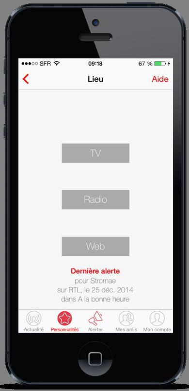 onAir, l'application pour suivre ses célébrités préférées dans les médias