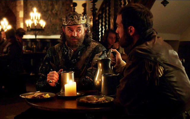 Les critiques // Galavant : Saison 1. Episode 7 et 8. My Cousin Izzy/All in the Executions.