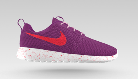 Nike Flyknit Roshe Run iD violet