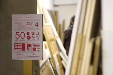 50 entreprises produisent chaque année 30000 m3 de déchets valorisable dans l'usine