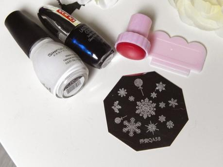 {Stamping} Let it snow, let it snow... (les erreurs de débutants à ne pas faire)