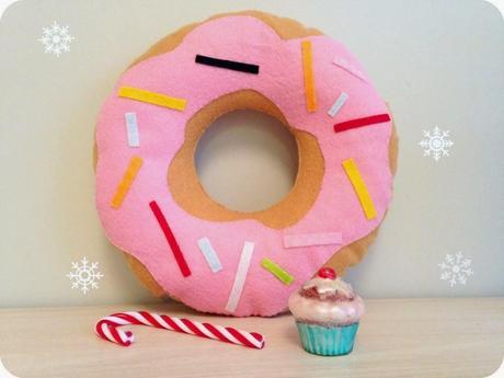 coussin donut diy