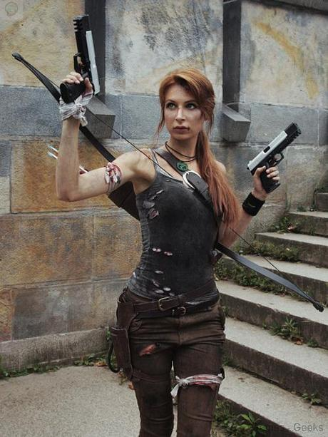 lara croft tomb raider cosplay 04 Cosplay   Lara Croft #44  Tomb Raider lara croft Cosplay