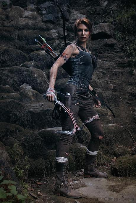 lara croft tomb raider cosplay 01 Cosplay   Lara Croft #44  Tomb Raider lara croft Cosplay