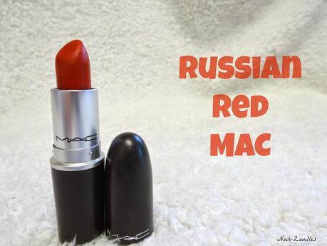 Le Russian Red de Mac et moi...