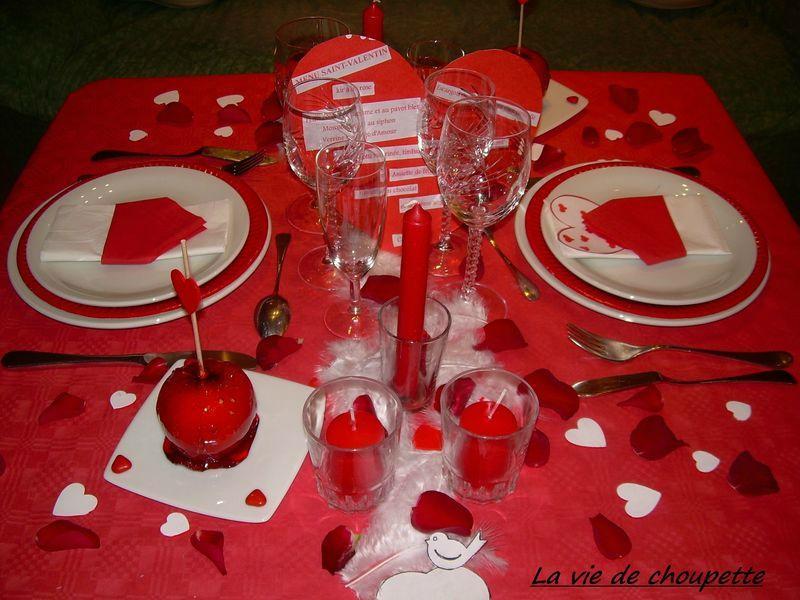 Decorations de table saint valentin voir - Decoration saint valentin ...