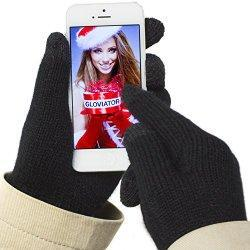 Gants de haute qualité fait de matériau agréable et doux, rendant l'utilisation des écrans tactiles possibles. Ainsi, vous n'aurez plus à retirer vos gants en hiver pour utiliser votre portable. Conçu pour les écrans à capteurs capacitatifs comme par...