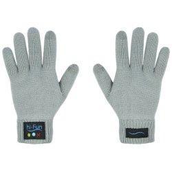 Hi-Call Bluetooth Handschuhe mit Mikrofon/Lautsprecher (grau/Damen)