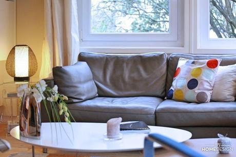 Visite Déco : Couleur Distillée dans maison contemporaine