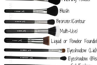 Comment choisir ses pinceaux maquillage paperblog - Pinceaux maquillage utilisation ...