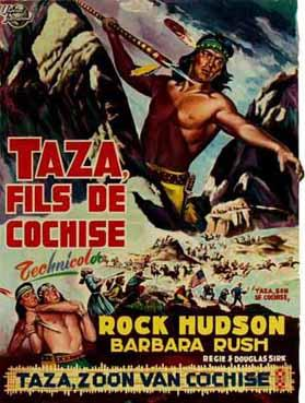 Taza, Son of Cochise - Affiche