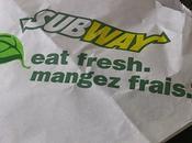 J'ai testé deux nouveaux sandwich Subway #FringaleSubway