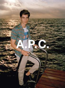 A.P.C. Spring Summer 2015 Lookbook