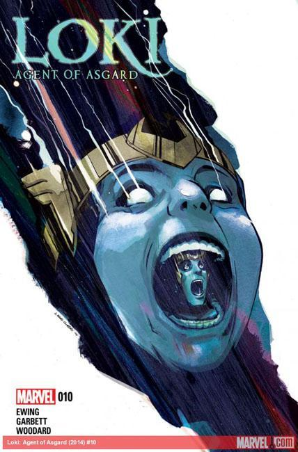 Loki agent of asgard 10 par Lee Garbett