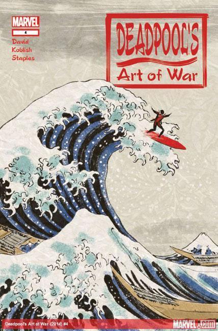 deadpool's art of war 4 par Scott Koblish