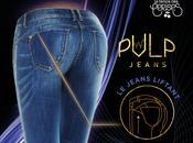 PULP, jeans liftant Temps Cerises.