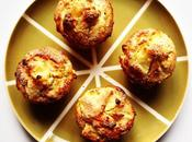 Sunday coming. MUFFINS POMME-POIRE RICOTTA PAVOT.