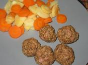 Boulettes porc parfumées épices vapeur)