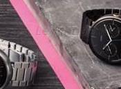 montre connectée Motorola Moto pare d'un bracelet métal