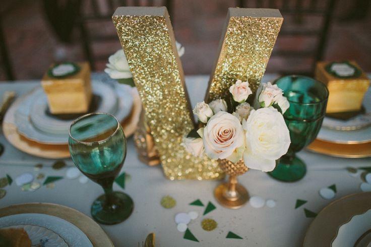 decoration mariage emeraude