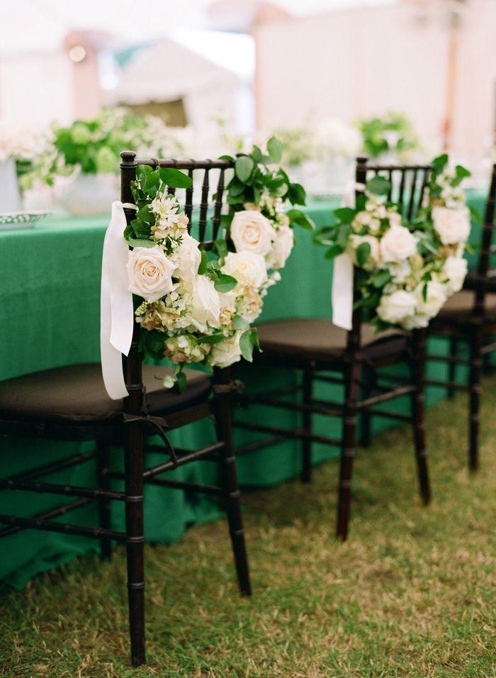 d coration de table de mariage en meraude et blanc paperblog. Black Bedroom Furniture Sets. Home Design Ideas