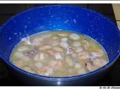 Tagliatelles fruits curry black pearl