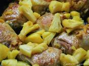 Poulet l'Ananas, Curcuma Lait Coco