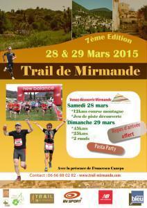 Gagnez votre dossard pour le Trail de Mirmande 2015!