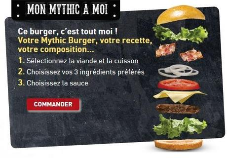 personnalise ton burger !