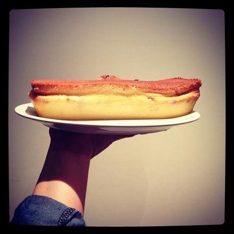Mon gâteau magique vanille-framboise ! (31 janvier)