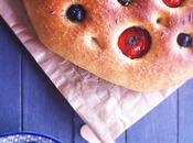 Focaccia olives & tomates cerises