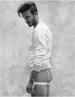 Beckham toujours et encore en slip