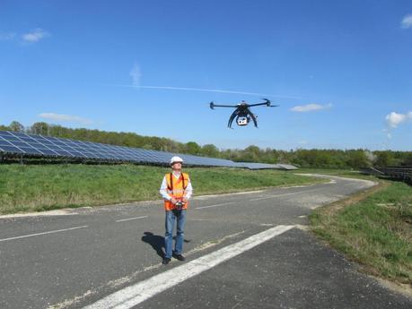 Innovation : le drone vole pour le BTP !