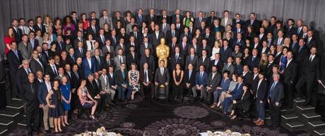 Les nommés aux Oscars 2015 prennent la pose