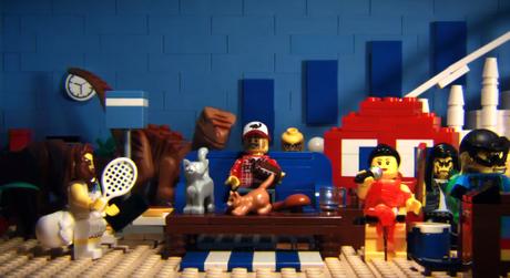 Les Pubs du SuperBowl en Lego!