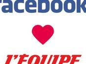 L'Equipe, premier média français Facebook