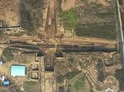 L'immense tombeau grand-mère Premier Empereur Chine