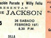 Jacksons Caracas, Vénézuela, février 1977