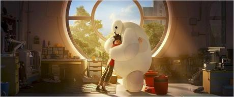 CINEMA: Les Nouveaux Héros (2014), quand Wall-E rencontre Stan Lee / Big Hero 6 (2014), when Wall-E meets Stan Lee