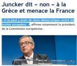 Honte à toi, Juncker ! Dehors ! #luxleaks