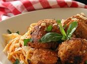 Sauce tomate boulettes saucisses Parrain (Pasta Recipe Herbed Meatballs Godfather