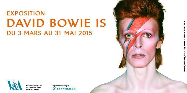 David Bowie, the exhibition at the PhilharmonieL'exposition David Bowie à la Philharmonie