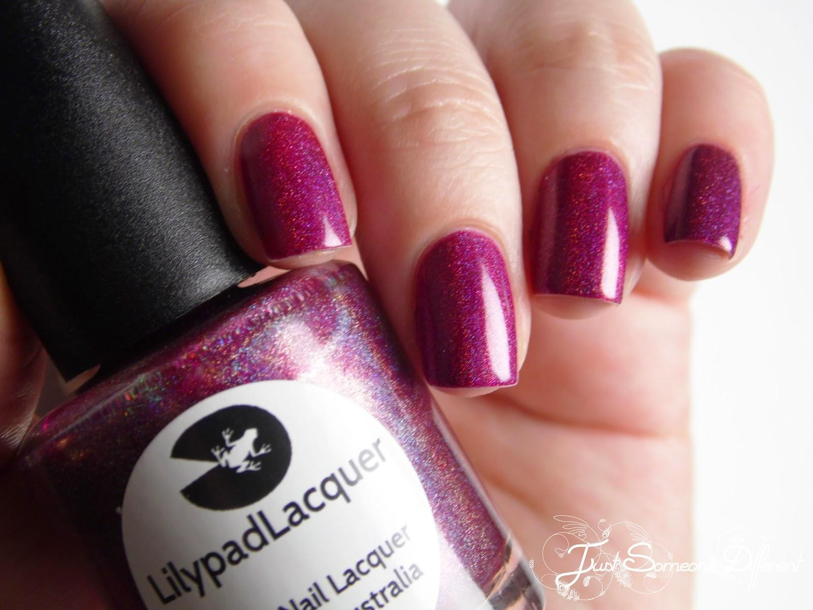Ruby Slippers - LilypadLacquer